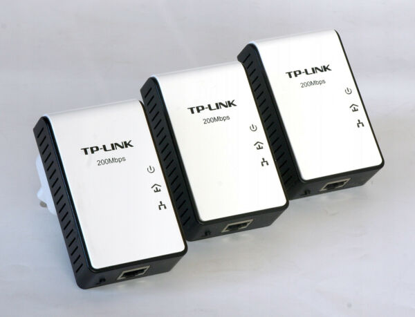 3x Tp-link Av200 Powerline Adapter Tl-pa211 Dlan Internet über Strom