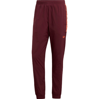 Details about adidas Originals Flamestrike Track Pants New Men's Bordeaux Orange Sports DU8129