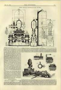 1884-Roux-Hydraulic-Pump-For-St-Pierre-Pit