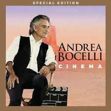 ANDREA BOCELLI CD - CINEMA [CD/DVD SPECIAL EDITION](2016) - NEW UNOPENED