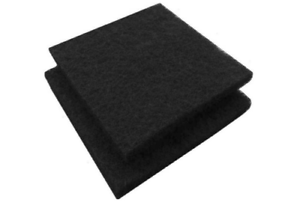"""Paint Booth Carbon Odor VOC Adsorption Filters 20x20x 1//2/""""  10 pack US Shipped"""