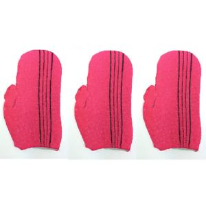 6PCS Korean Italy Shower Bath Massage Korea Towel Body Scrub Exfoliating Towels