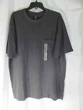 NWT Men's U.S. Polo Assn. Charcoal Gray short Sleeve T-Shirt Size LT