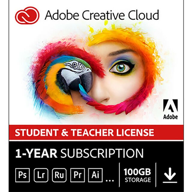 Photoshop Cc Student And Teacher Edition For Sale