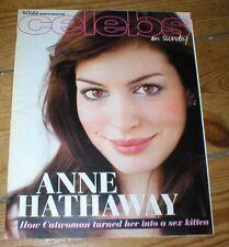 ANNE HATHAWAY Amy Winehouse Tom Conti Perry Fenwick Matthew McConaughey magazine