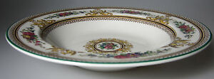 Wedgwood-Columbia-W595-RIM-SOUP-BOWL-s-8-034-EXCELLENT