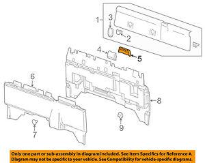 GM OEM Interior-Seat Belt Cover 22849057