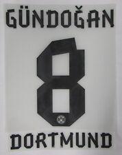 BVB 09 Borussia Dortmund Gündogan Player Flock f.PUMA Home Trikot 2012-2013-2014