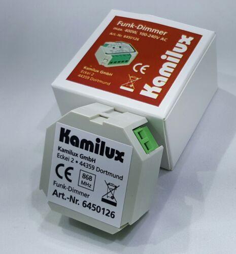 Kamilux® Funk-LED Dimmer Komplettset inkl Fernbedienung Maximallast 400W 8-230V