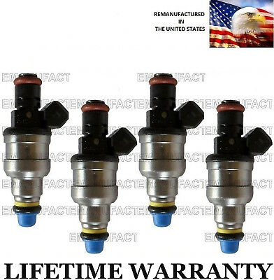 Upgraded 4 hole 19LB Set of 6 BOSCH fuel injectors For Ford Mazda Mercury