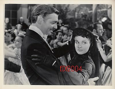 VIVIEN LEIGH & CLARK GABLE Original GWTW Photo '39 Gone Wind Dancing Portrait