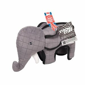 STRONG-Stuff-PERROS-Juguete-Elefante-Tirar-zerren-Lanzar-con-bordado