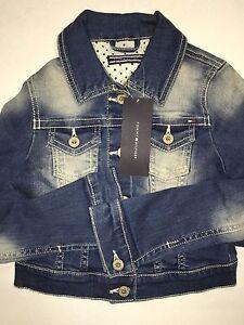 Tommy Hilfiger Girls Denim Jacket 1-2 Yrs RRP £90