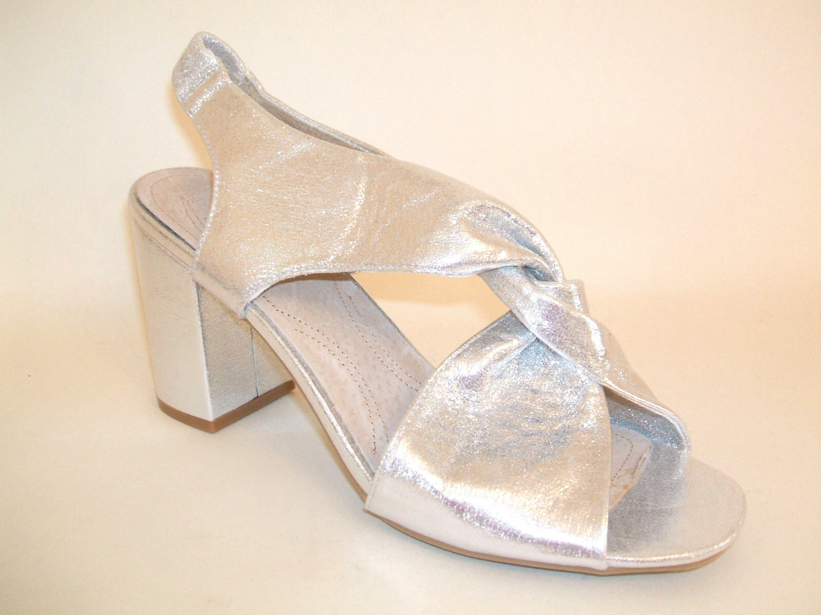 WOMENS NEW PLUS SIZE 9 43 WIDE FIT SILVER MID HIGH HEEL TRANSVESTITE CD SHOES
