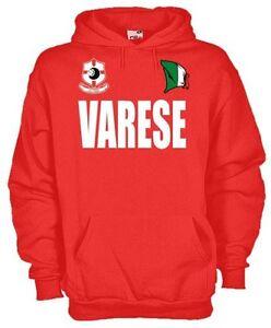 Dettagli su Felpa Supporters hoodie KT64 Varese Tifosi calcio football fans Italia