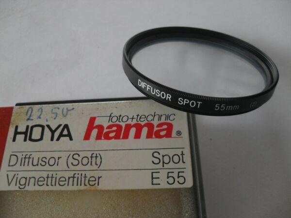 +++ Neuf +++ 55 Mm Hama Effet-filtre Diffuseur Spot (soft), Neuf Dans Sa Boîte, 55 Mm +++ Neuf +++
