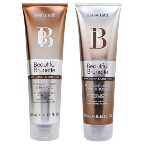 Creightons Beautiful Brunette with Argan & Chestnut Shampoo + Conditioner 250ml