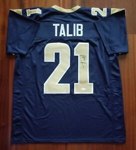 Image is loading Aqib-Talib-Autographed-Signed-Jersey-LA-Rams-JSA e21136cd3