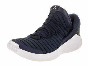 ab895bbaf9ea18 Nike Jordan Flight Luxe Mens Training Shoes Navy White 919715-402 ...