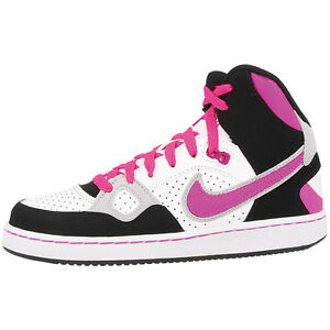 High Retro Sneakers Shoes Mid Nike Of Gs Top Force Blanco Rosa Son wqqA60