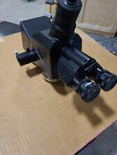 Mitutoyo Microscope With 10x Wf Eye Pieces With Mitu Polarizer Set Illuminator