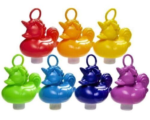 7x 14x 21x 28x Angelspiel Plastik Einhorn Enten 15 cm angeln 7 Farben Angelenten