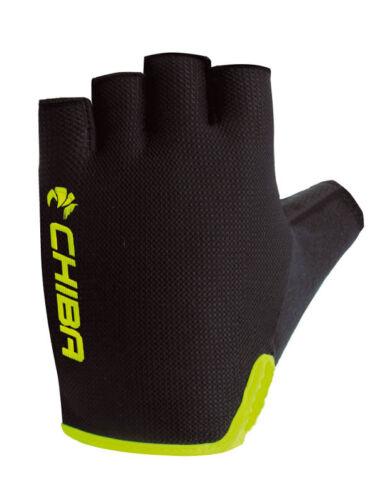 Chiba Breeze Fahrrad Handschuhe kurz schwarz//gelb 2019