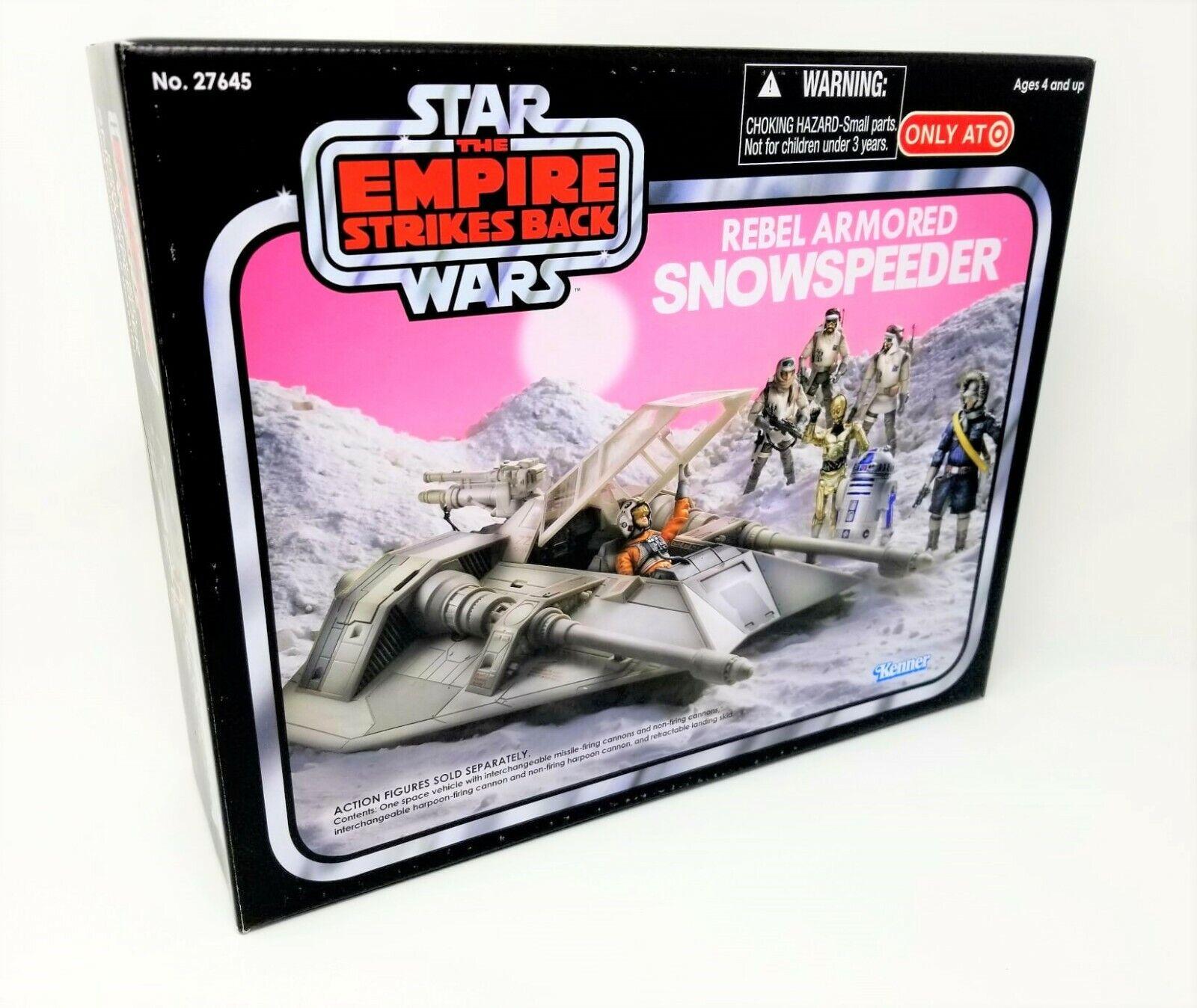 Star Wars Empire Strikes Back Rebel Armored Snowspeeder Target Exclusive MIB