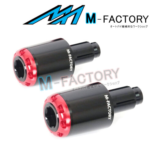 RUSH26 CNC Handlebar End Weights Fit Suzuki GSX-R 1000 07-12 07 08 09 10 11 12