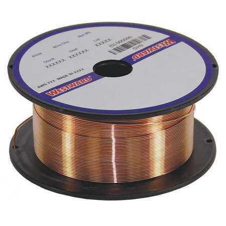 WESTWARD 30XN93 MIG Welding Wire,Carbon Steel,0.035 in.