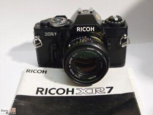 Ricoh-SLR-Kamera-XR7-PK-Bajonett-Objektiv-Rikenon-1-7-50-mm-52mm-lens