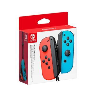 Nintendo Switch Joy-Con - Left & Right - Neon Red & Blue