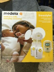 New Medela Freestyle Mobile Double Electric Breast Pump Sealed In The Box Ebay