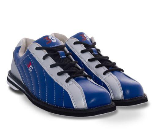 Mens 900 Global 3G KICKS Bowling Shoes Navy//Silver Sizes 5-14 /&  Shoe Slide