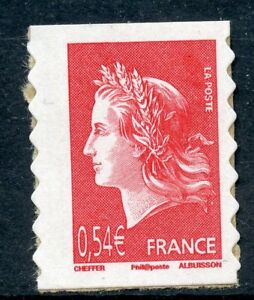 STAMP-TIMBRE-FRANCE-N-4109-MARIANNE-DE-CHEFFER-AUTOADHESIF