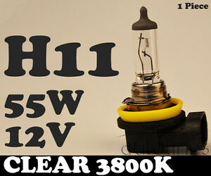 1-x-H11-12V-55W-Clear-Yellow-3800k-Halogen-Car-Head-Light-Fog-Lamp-Globes-Bulbs