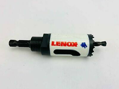 LENOX T3 Arbored Hole Saw Bi Metal 1 1//8 Inch Speed Slot USA 1772483