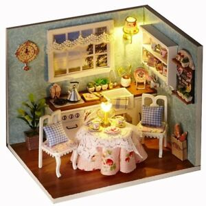 Music-Doll-house-Furniture-Miniature-Cabin-Kitchen-Doll-House-With-LED-Light-DIY