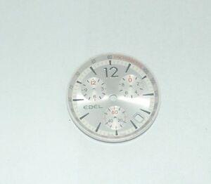 Energisch Ebel Zifferblatt Classic Wave Herren Chronograph Uhr 27,5mm Durchmesser Letzter Stil Uhren & Schmuck