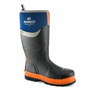Buckler Boots BBZ6000BL10 Safety Wellington Knee Boot, Size 10 - Blue