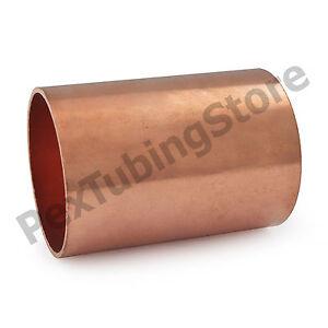 """1-1//4/"""" C x 1-1//4/"""" C Copper Slip Coupling"""