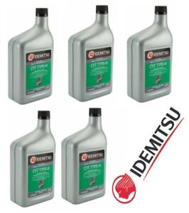 Details about Set of 5 Idemitsu CVT Continuously Variable Transmission  Fluid for Nissan Suzuki