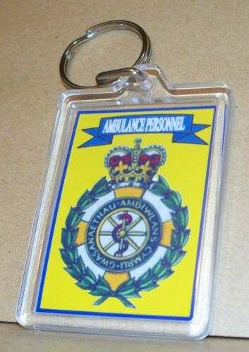 Welsh Ambulance Service key ring..