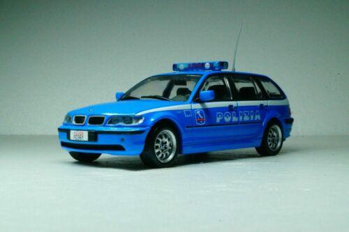 ed De Agostini scala 1//43 bmw 320 D touring 2003 Polizia