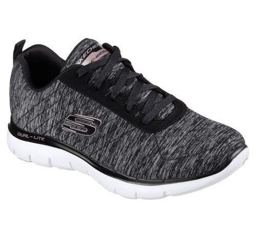 0 Flex zapatillas Nuevas 2 Skechers mujer para Appeal Negro 1fPazZ