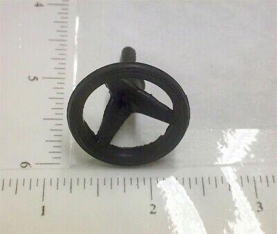 Dozen Tonka Black Rubber Crank//Handle Tip Replacement Toy Parts TKP-148B