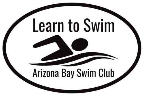 Arizona Bay Swim Club Learn To Swim Tool Sticker Maynard