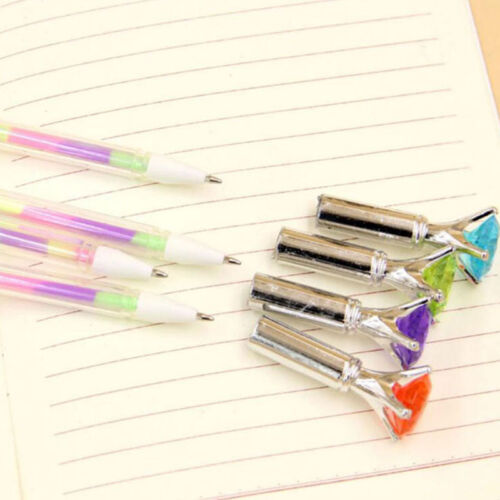 10pcs 6 in 1 Color Gel Pen Pens Stationery School Office Writing Supplies Pens