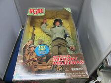 GI JOE WWII  E.T.O. Military Policeman  Talking GI Joe with 11 Phrases  MIB
