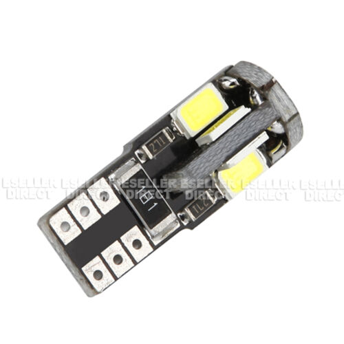 2x T10 8 SMD LED WHITE NUMBER PLATE LIGHT FREE ERROR Vauxhall Astra MK6 04-14